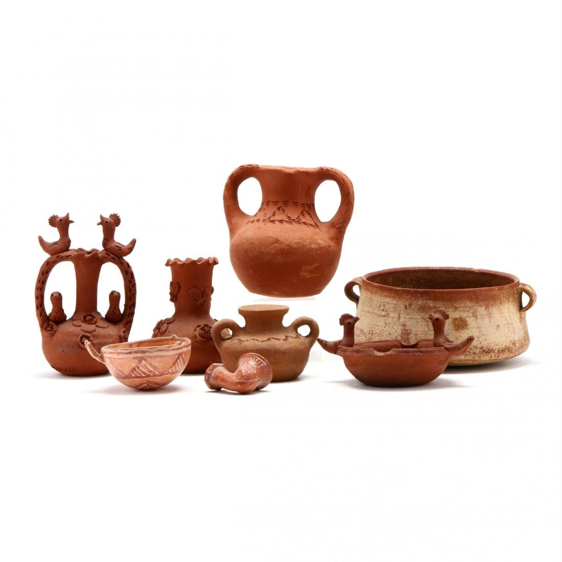 Group of Antique Cypriot Pottery Reproductions