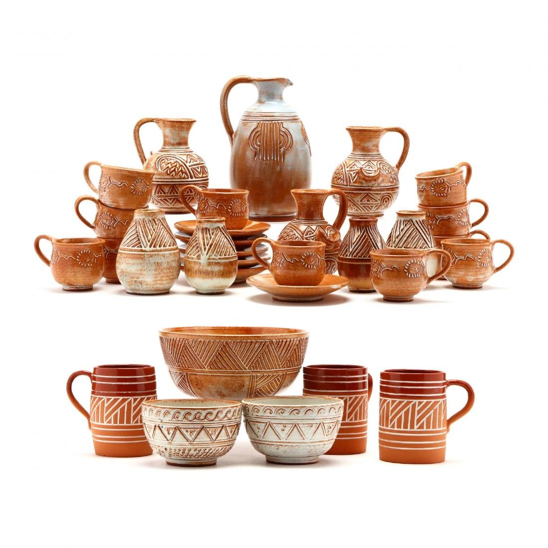 Group of Contemporary Cypriot Pottery
