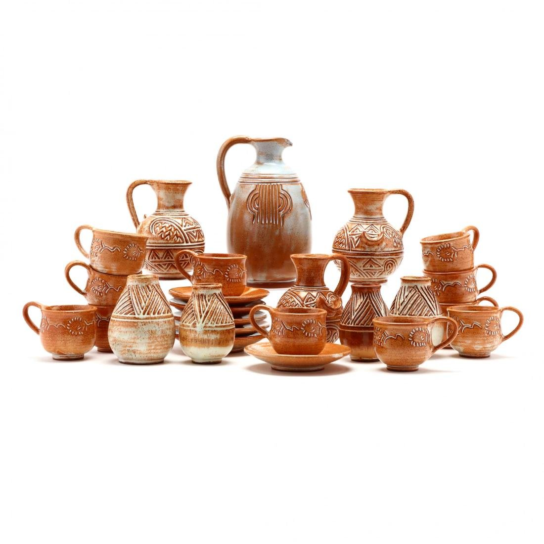 Group of Contemporary Cypriot Pottery - 2