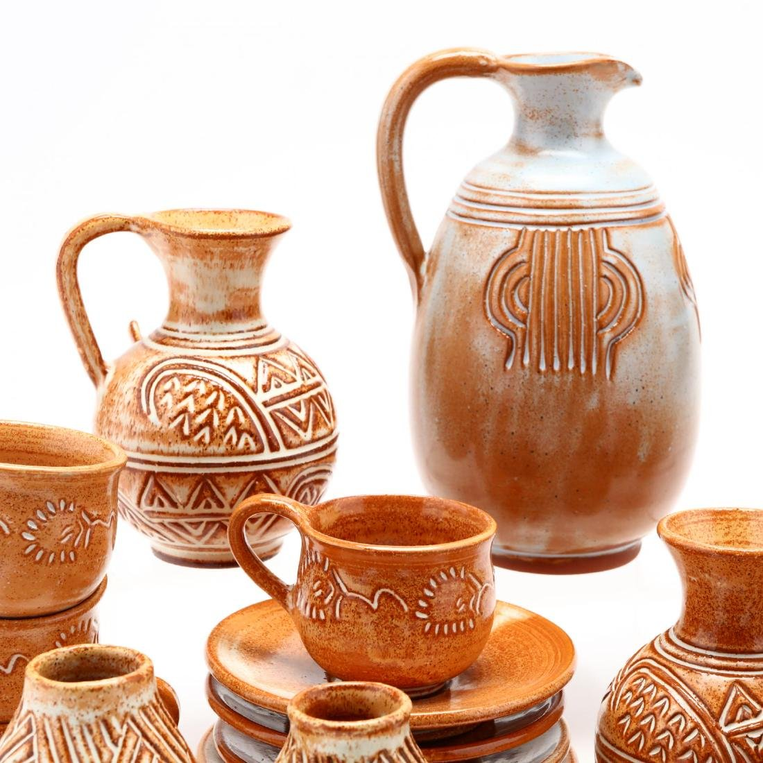 Group of Contemporary Cypriot Pottery - 3