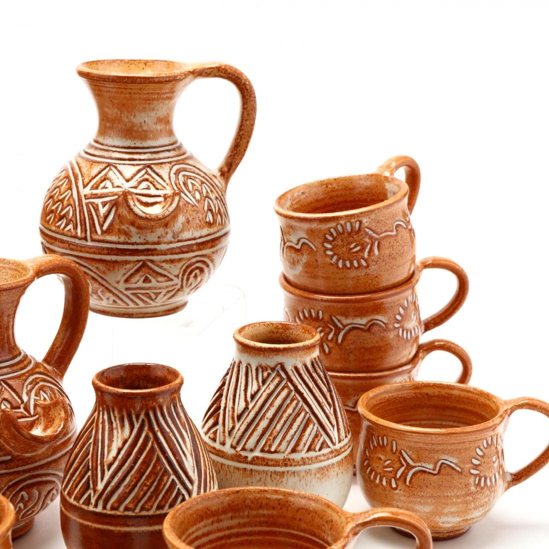 Group of Contemporary Cypriot Pottery - 4