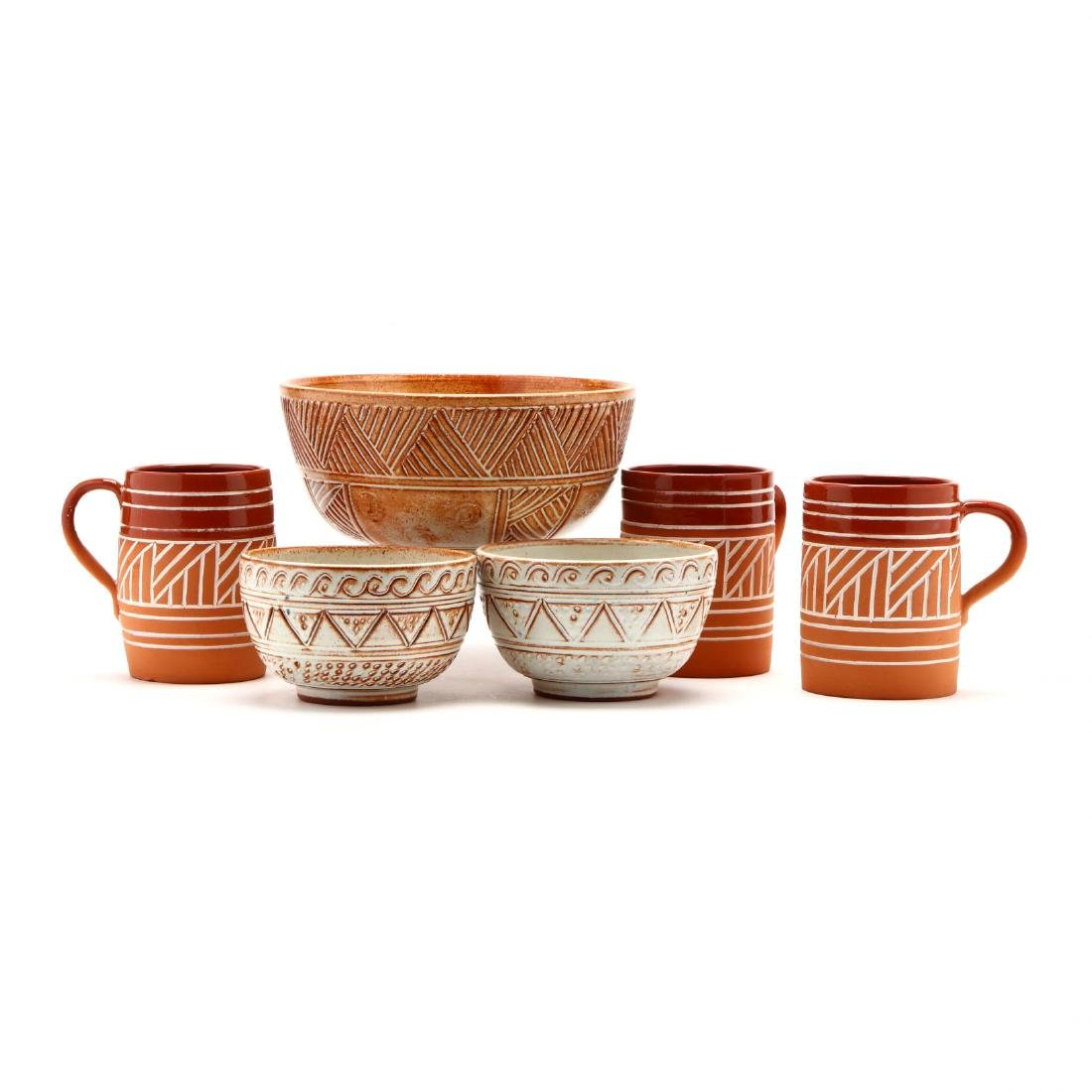 Group of Contemporary Cypriot Pottery - 5