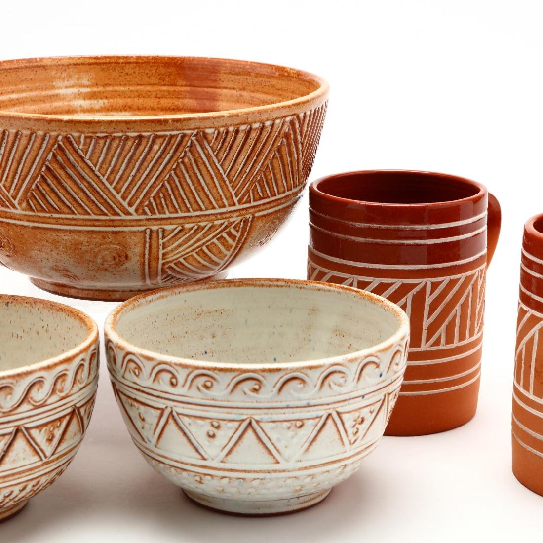 Group of Contemporary Cypriot Pottery - 6