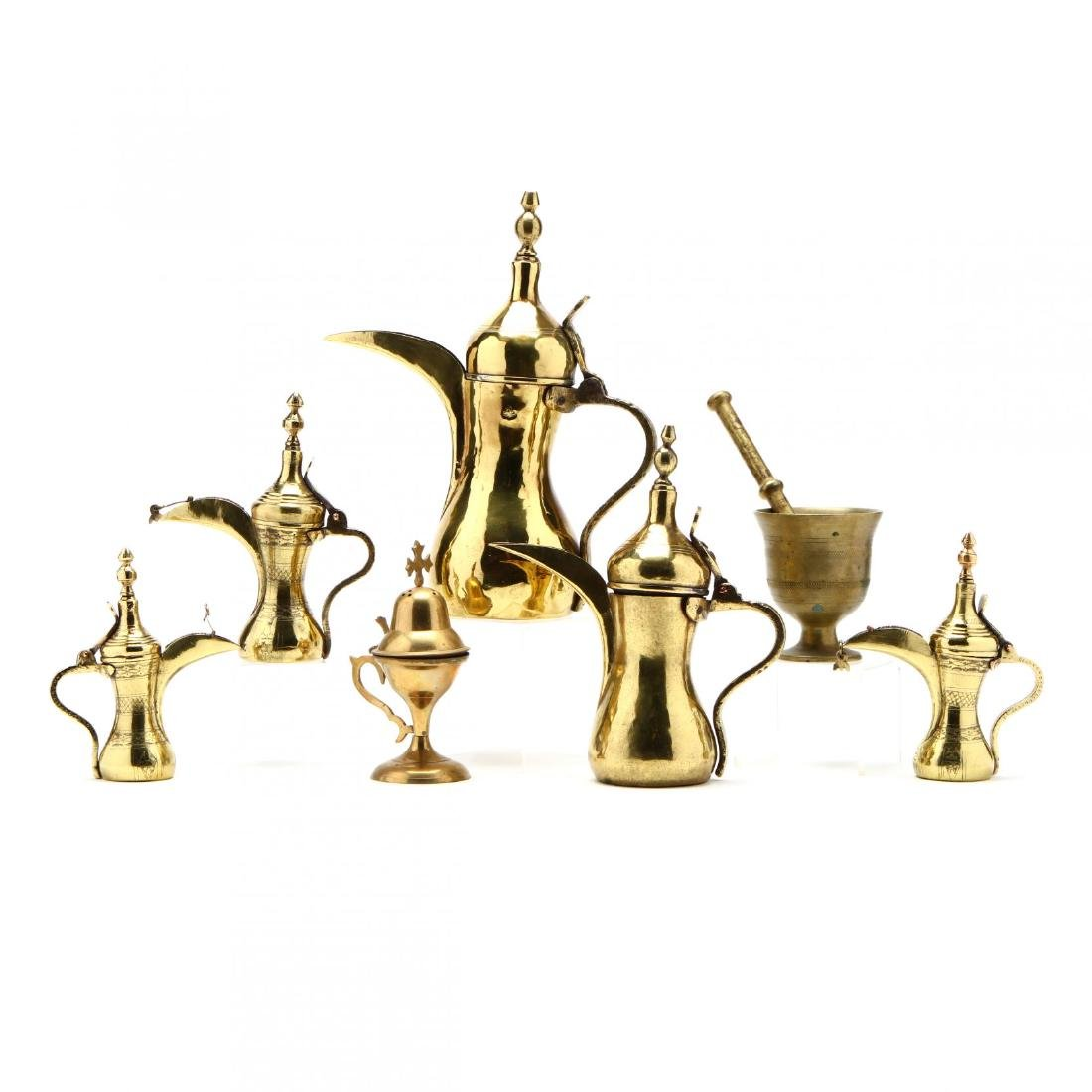 Group of Brass Vessels - 2