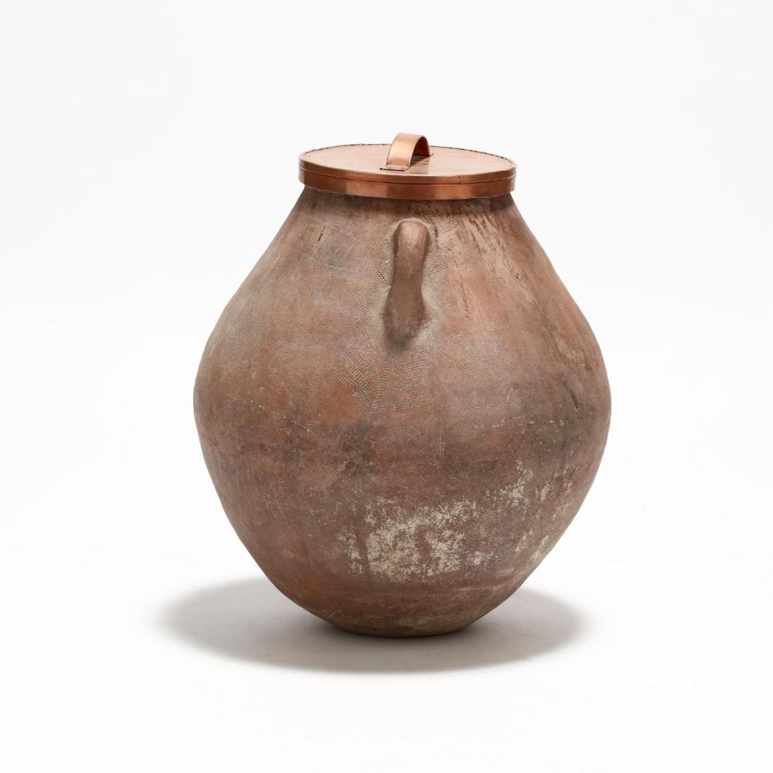 Cypriot Traditional Terracotta Storage Jar - 6