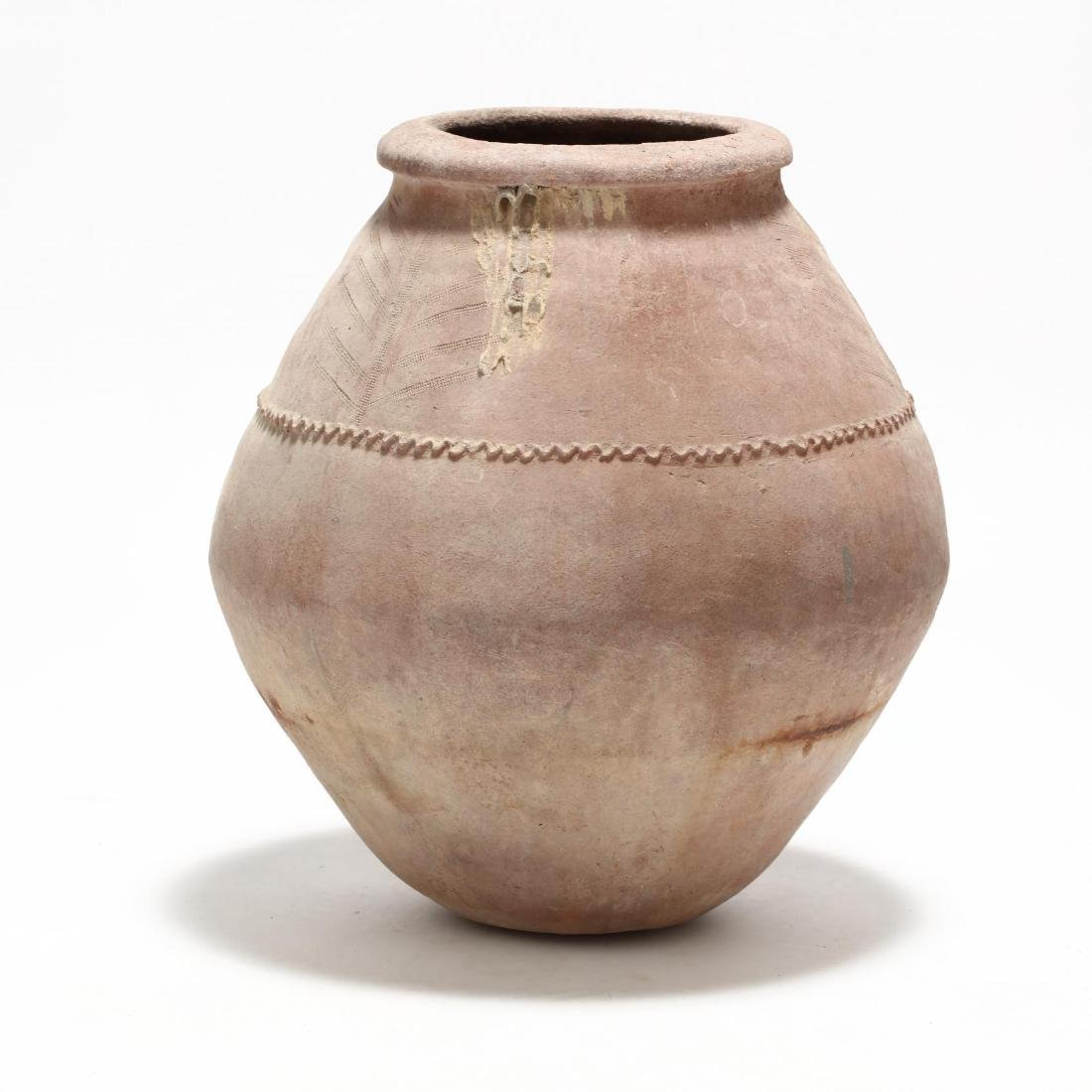 Cypriot Traditional Terracotta Storage Jar - 3