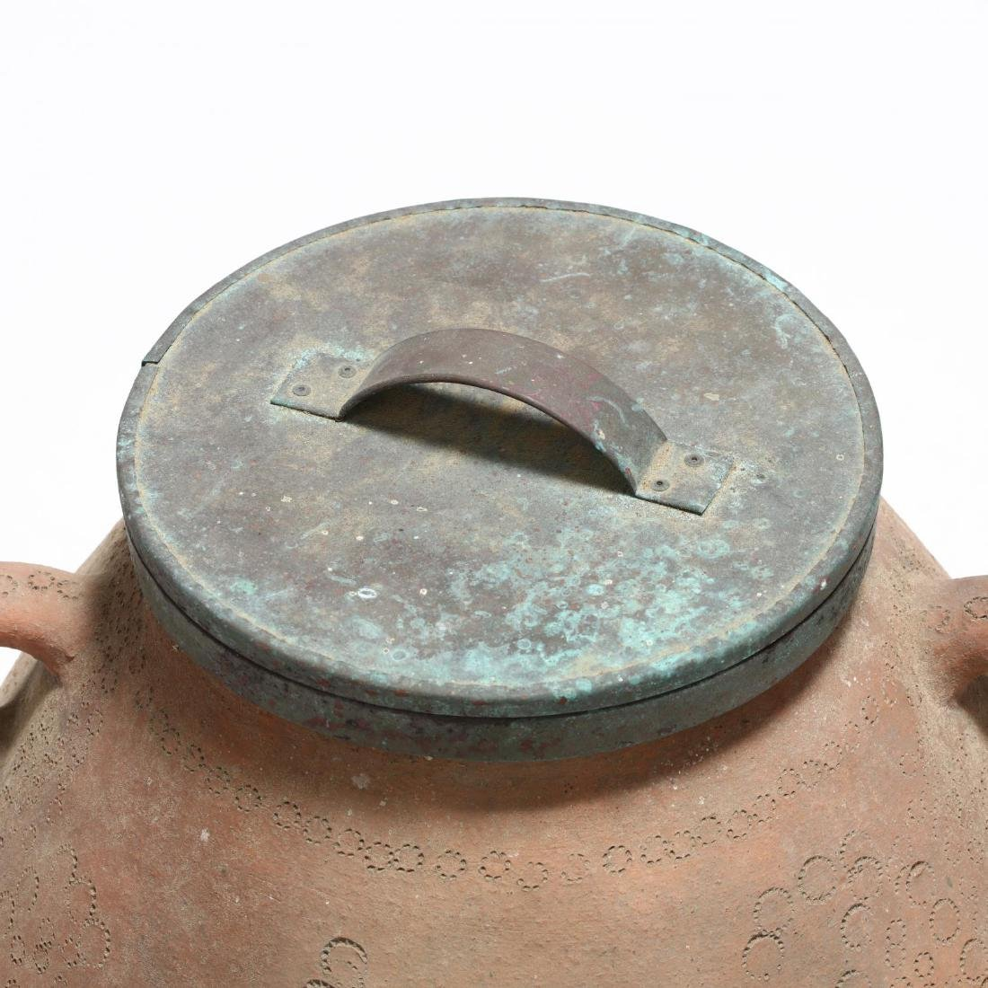 Cypriot Traditional Terracotta Storage Jar - 2