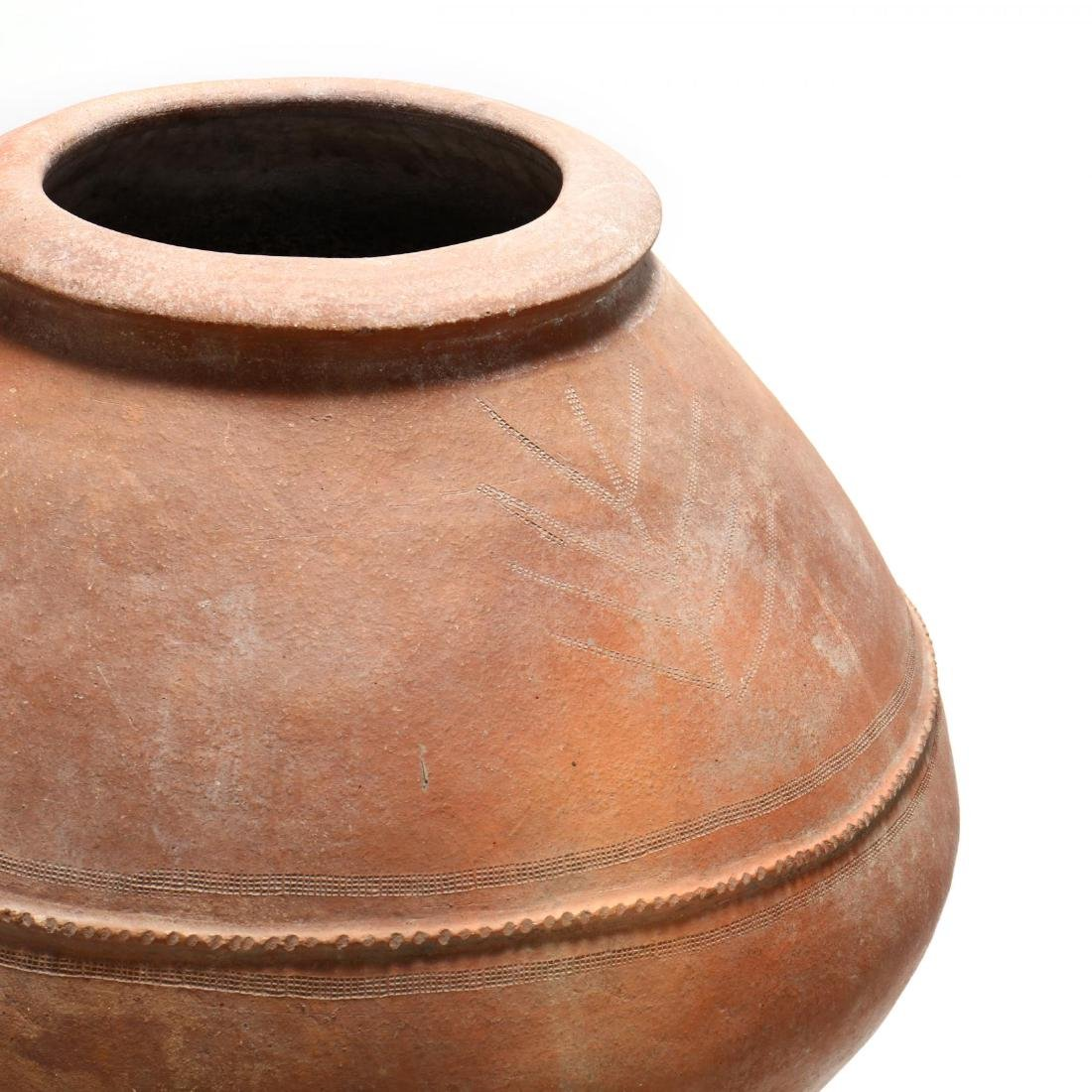 Cypriot Traditional Terracotta Storage Jar - 3