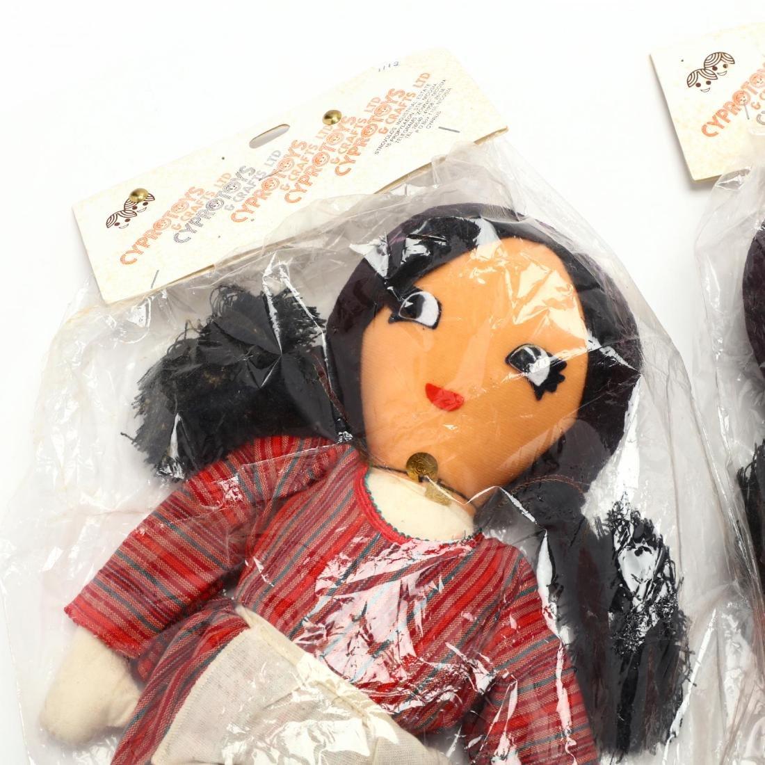 Pair of Handmade Dolls, Cyprus Crafts LTD. - 2