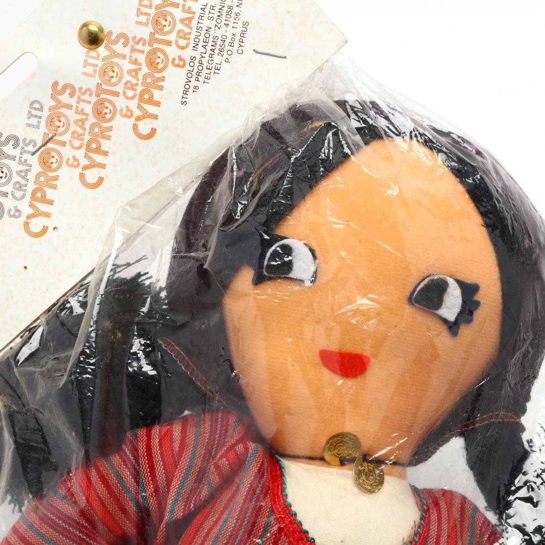 Pair of Handmade Dolls, Cyprus Crafts LTD. - 5