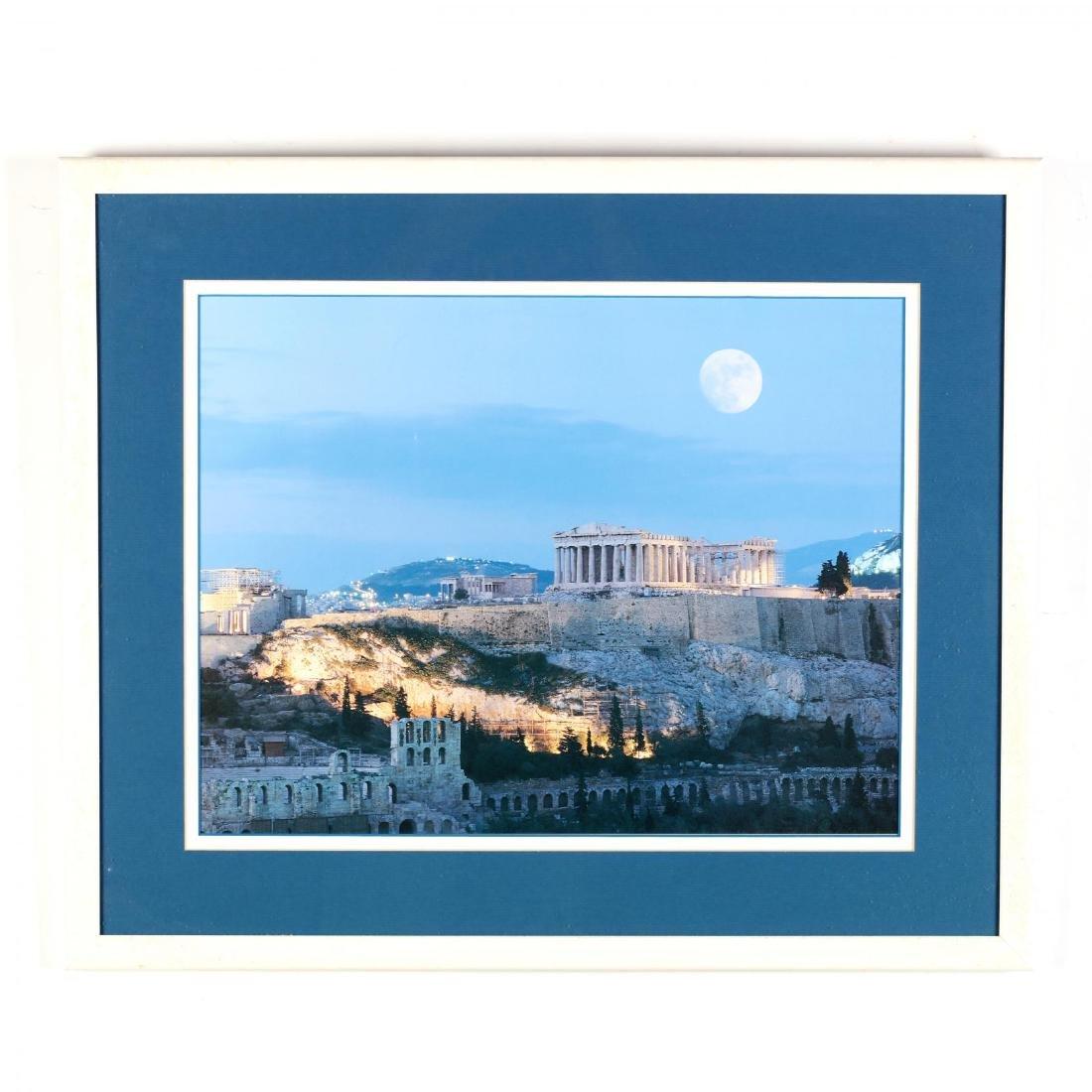 Two Framed Photographs of Greek Landmarks - 2