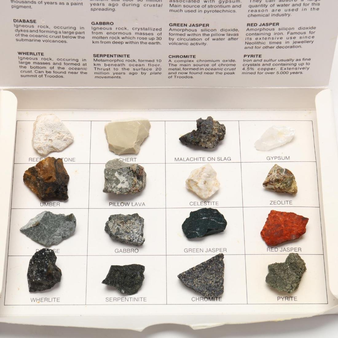 A Boxed Collection of Cypriot Mineral Specimens - 3