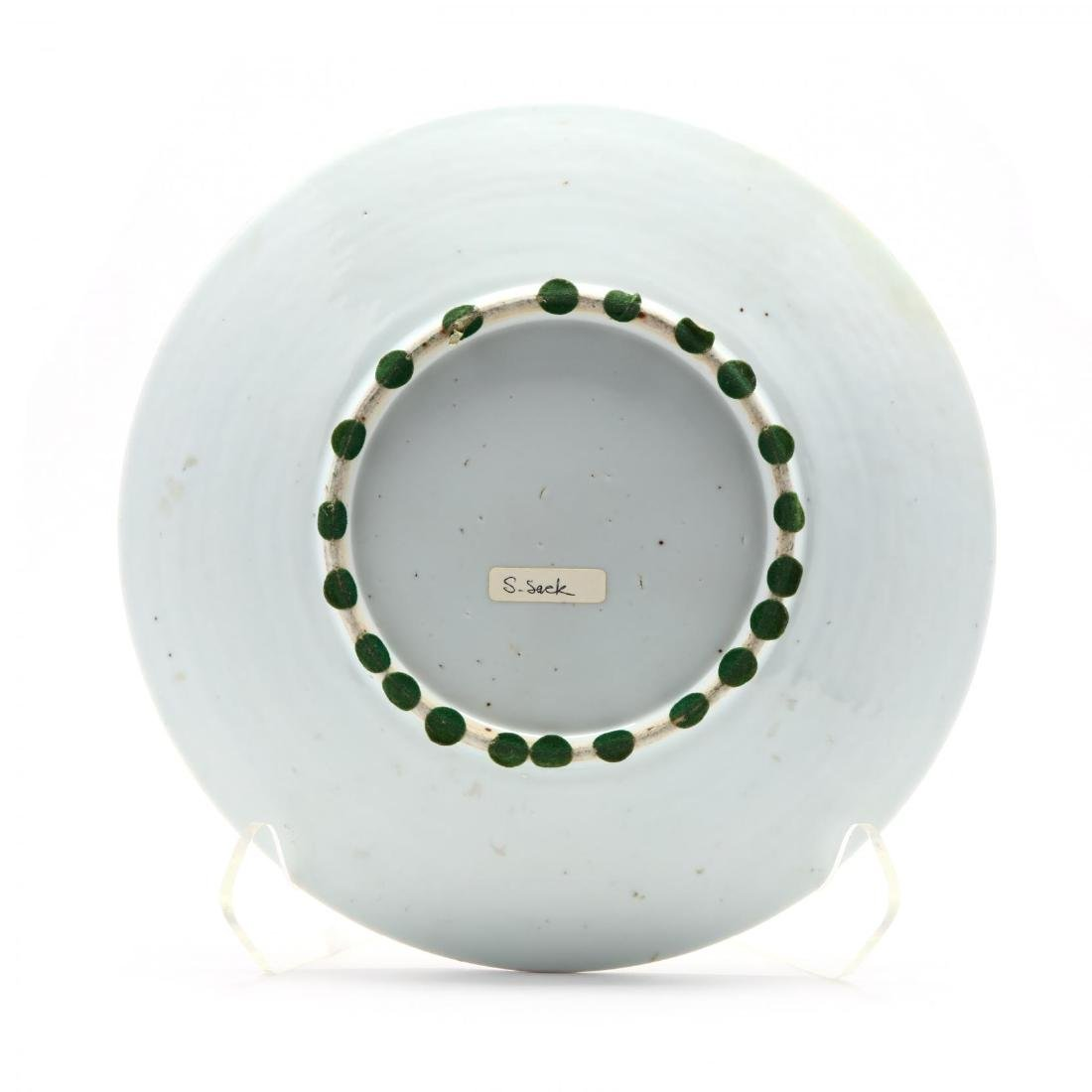 A Chinese Export Porcelain Famille Verte Charger - 3