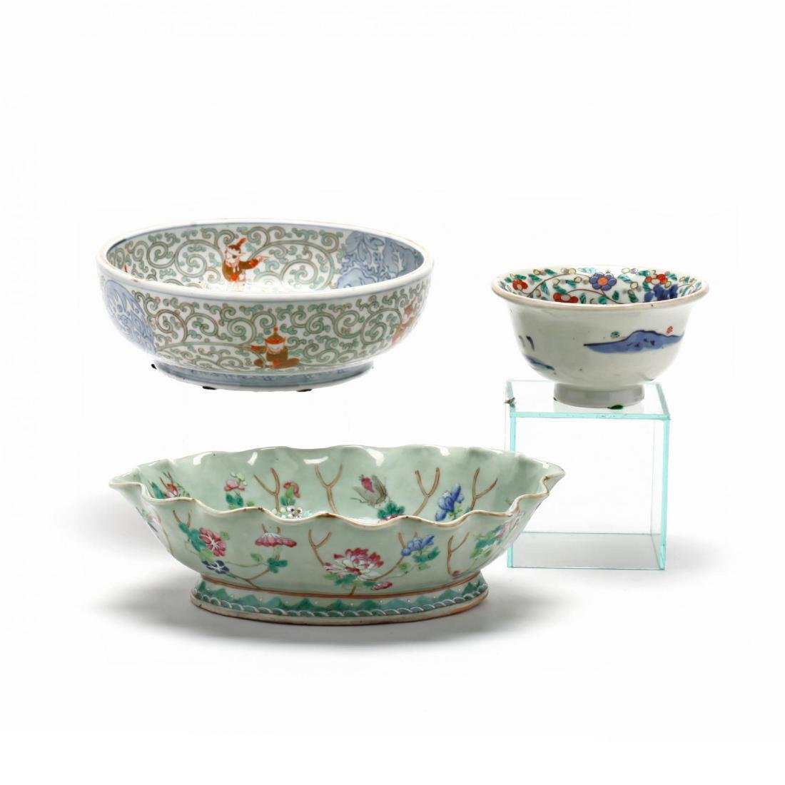 A Group of Chinese Porcelain Tableware - 2