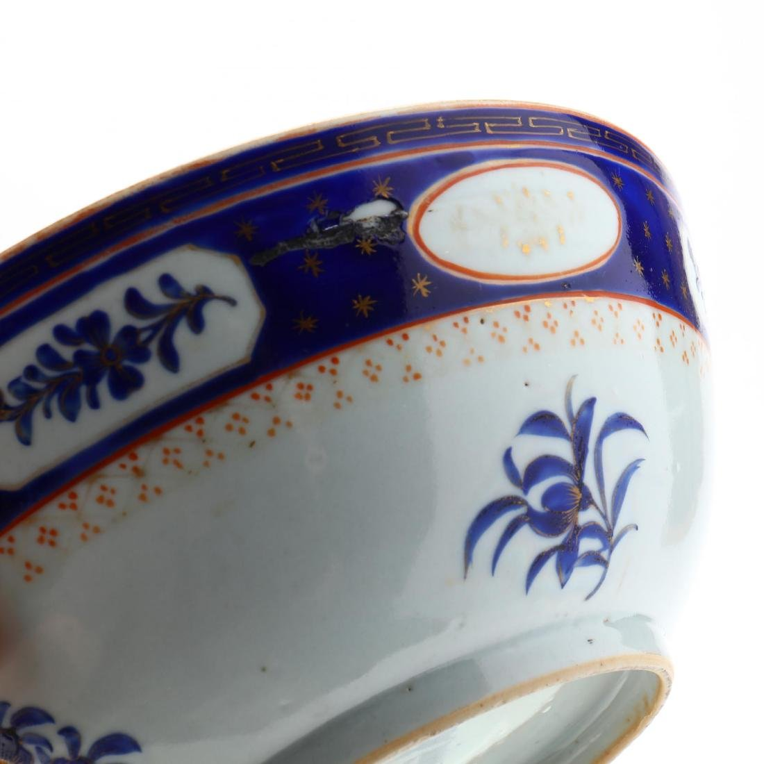 Pair of Antique Chinese Export Porcelain Bowls - 2