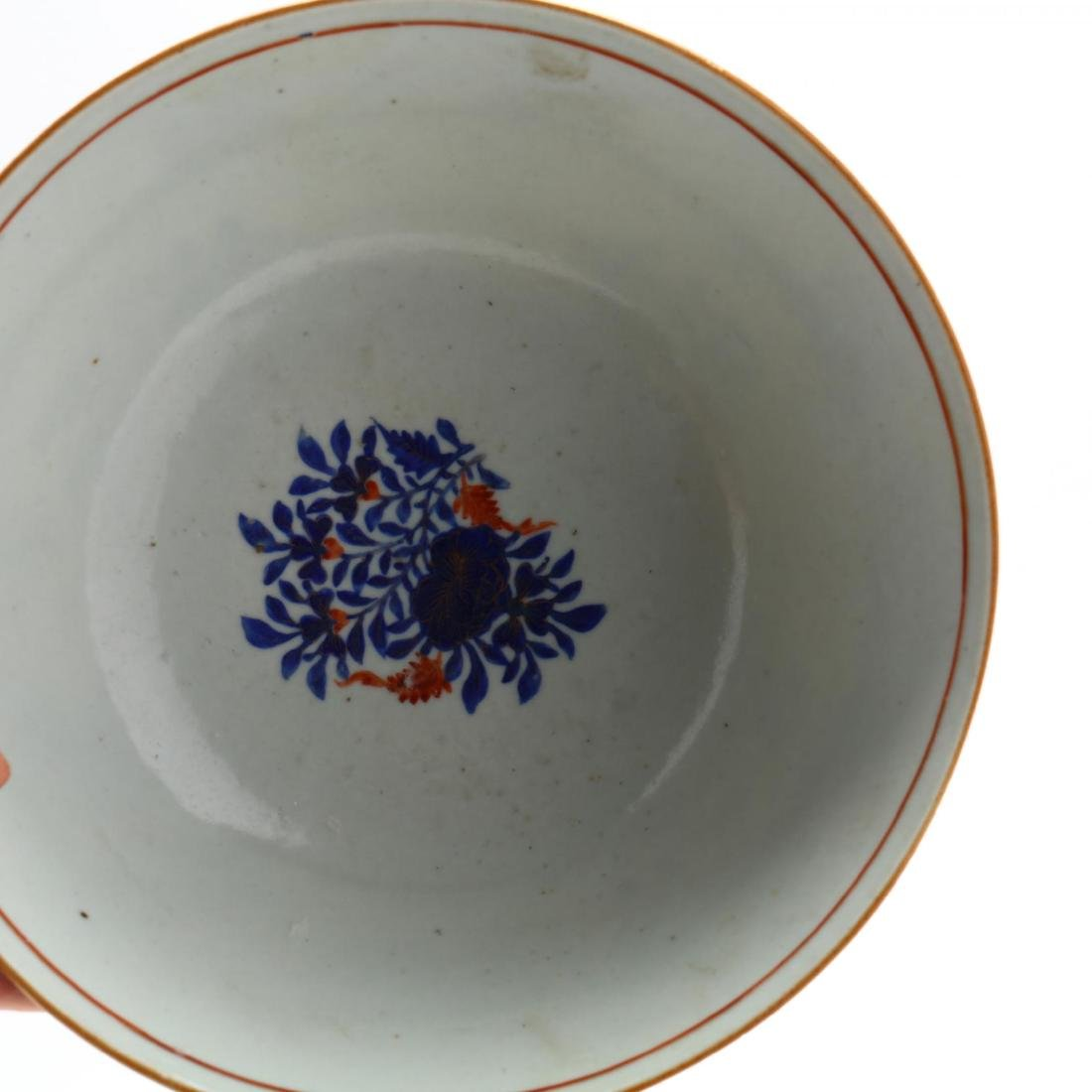 Pair of Antique Chinese Export Porcelain Bowls - 4