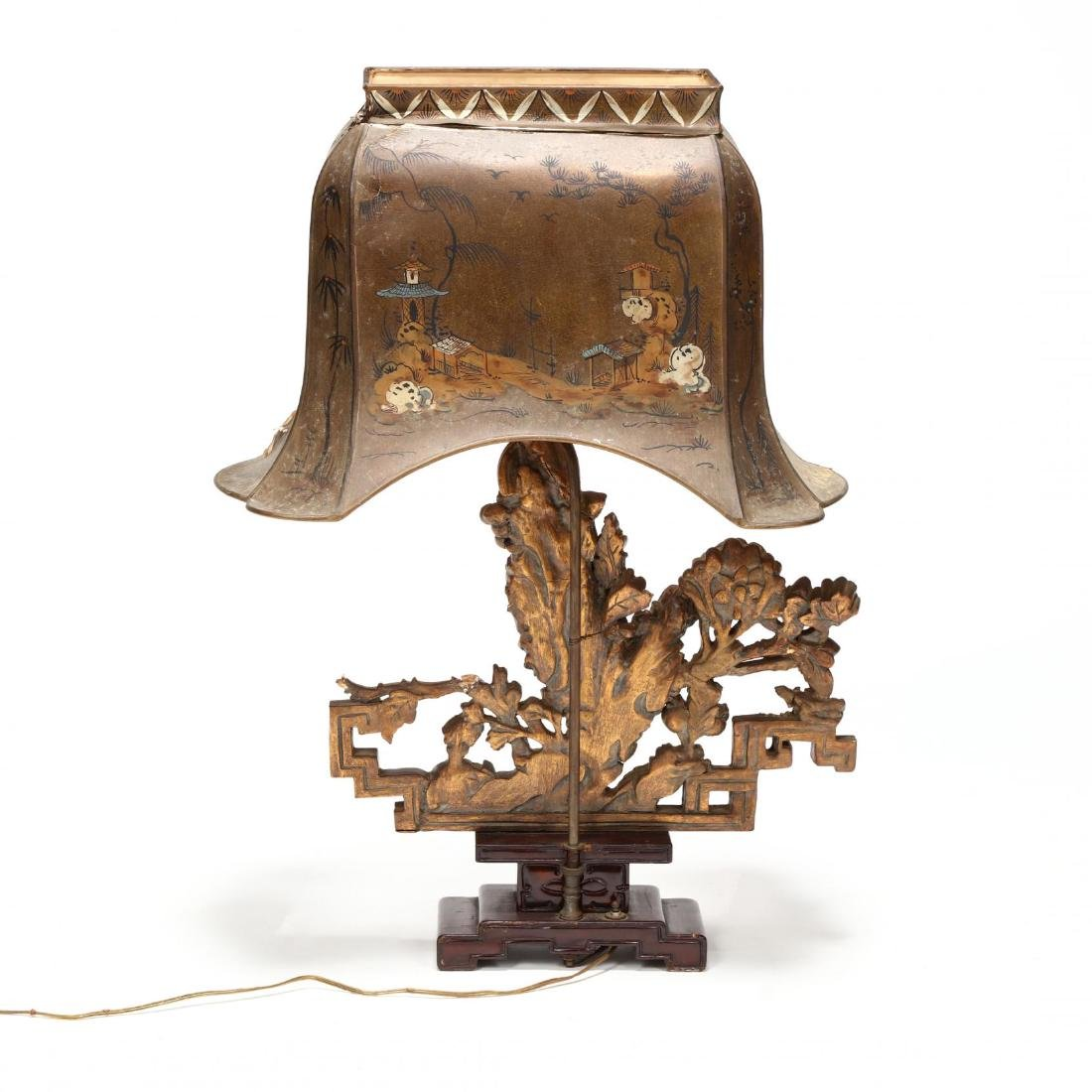 Chinese Architectural Element Table Lamp - 5