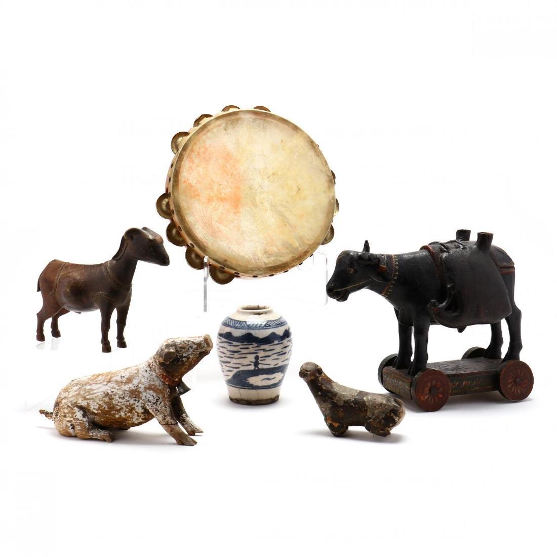 Six Decorative Asian Items