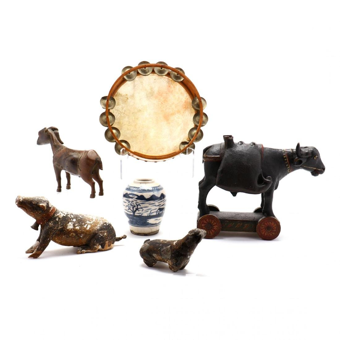 Six Decorative Asian Items - 5