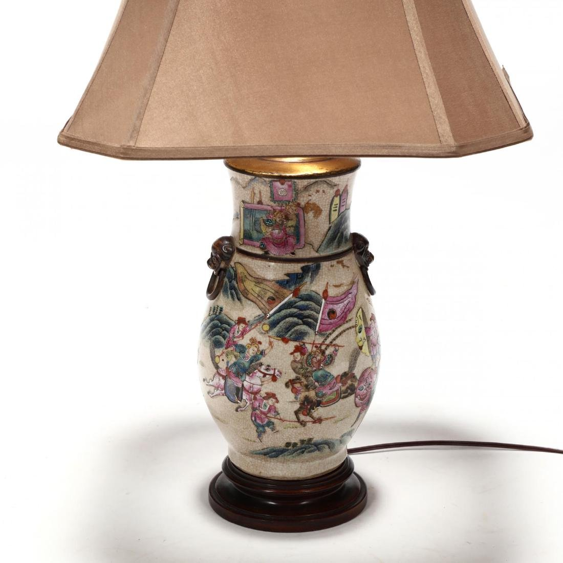Chinese Export Porcelain Table Lamp - 2