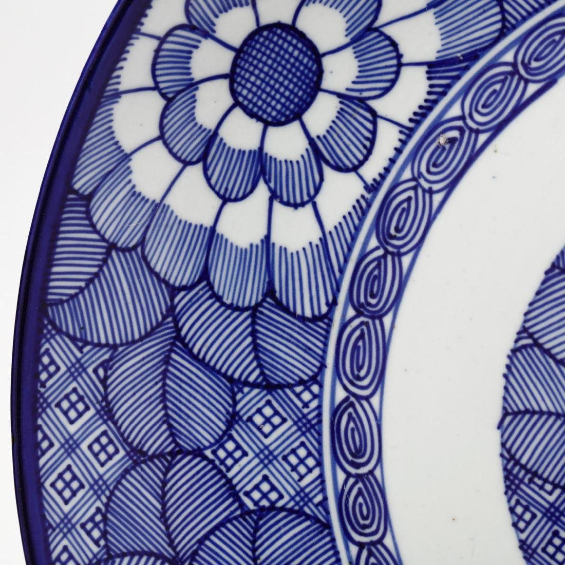 Chinese Blue and White Charger - 4