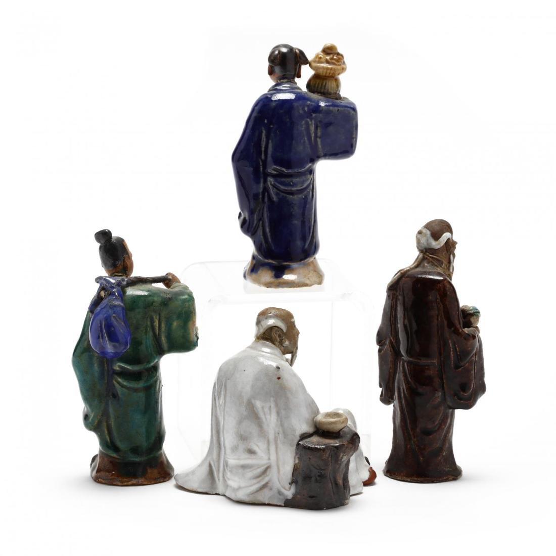 Four Chinese Mud Men - 2