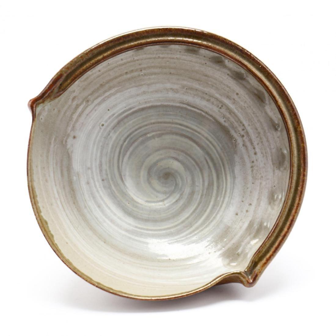 A Contemporary Japanese Ceramic Bowl by Ichino Shinsui