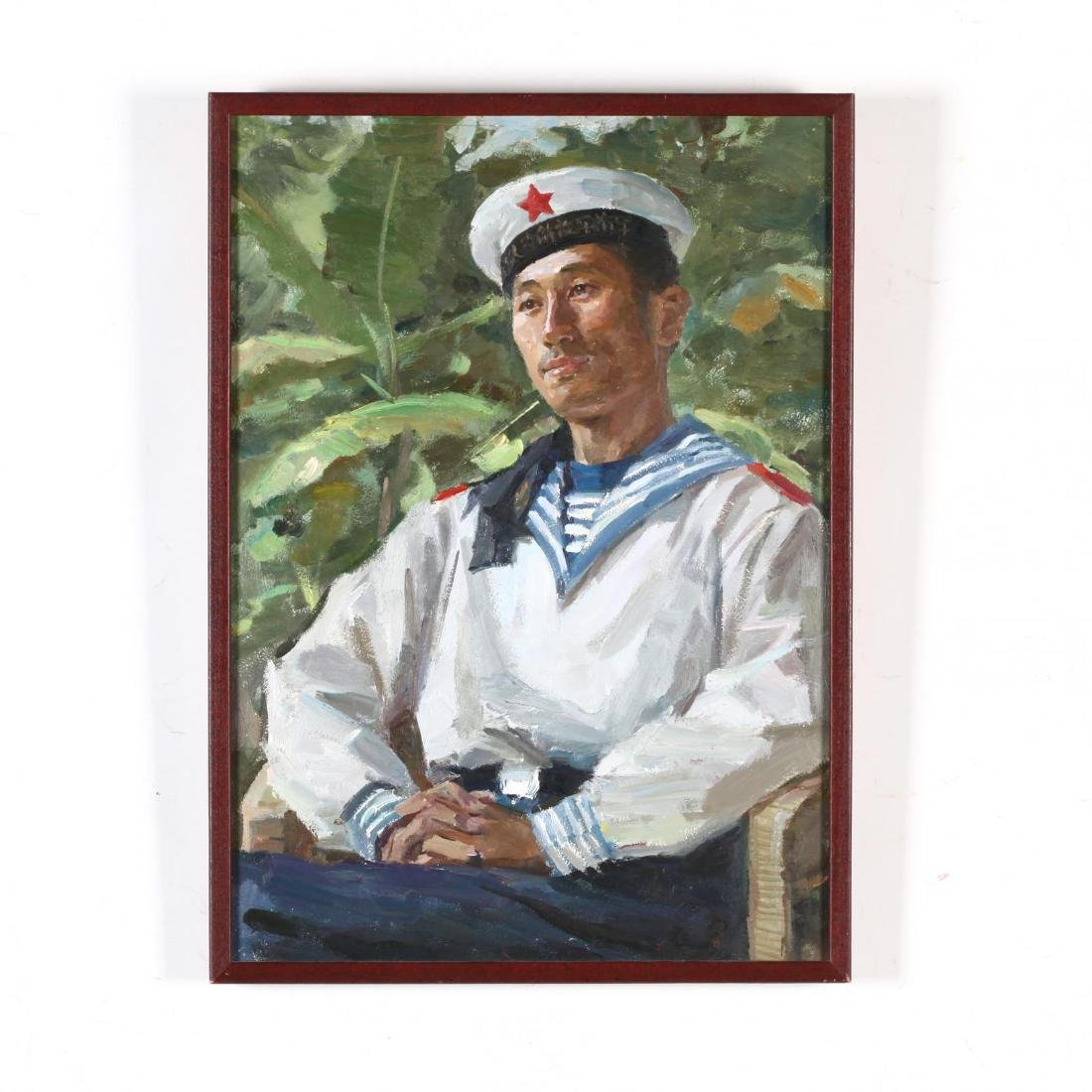 Portrait of a People's Liberation Army Sailor