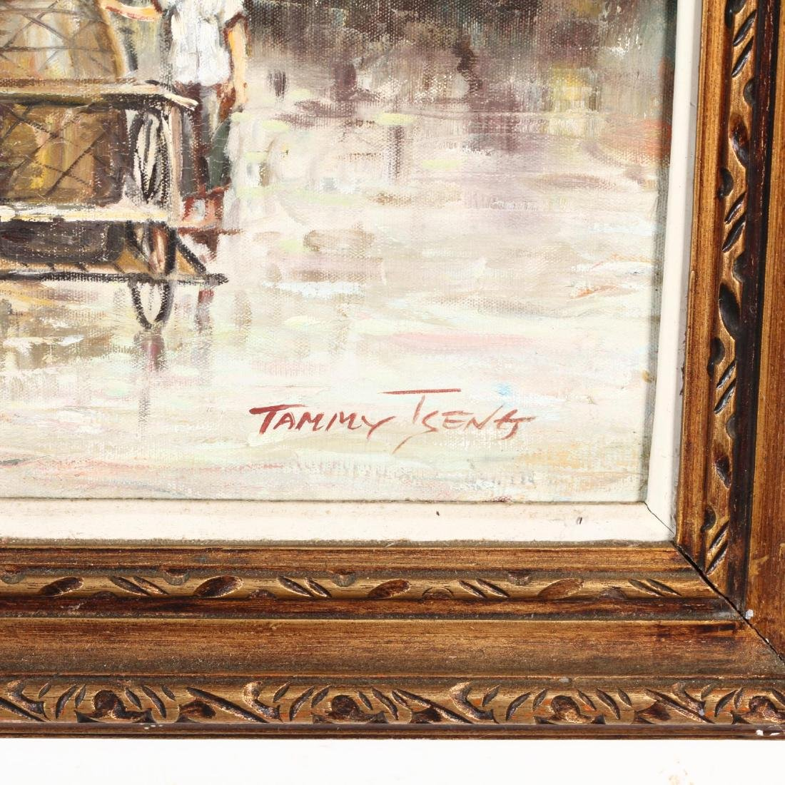 Tammy Tseng (Chinese, 20th Century), Market Scene - 2