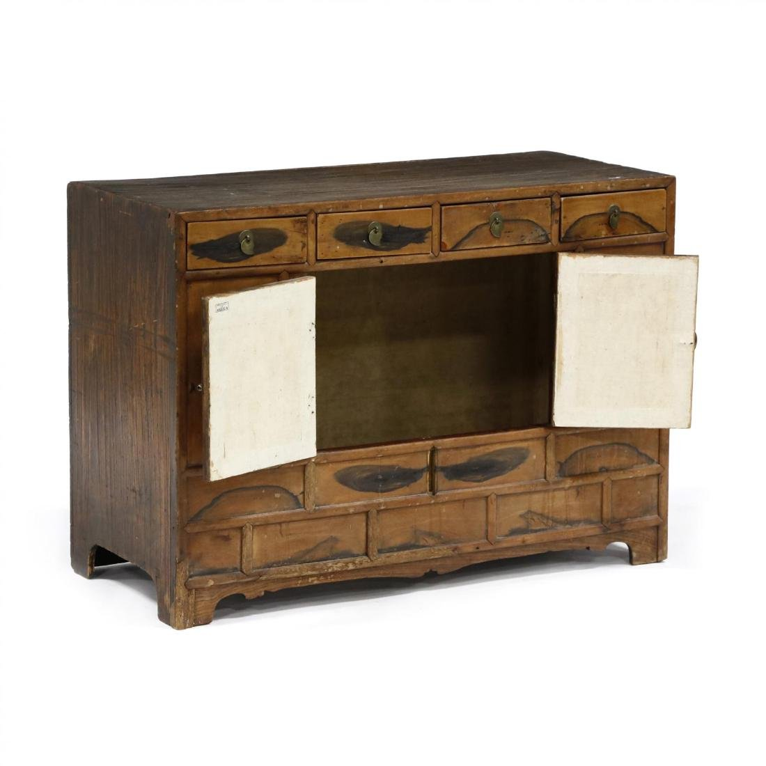 Antique Chinese Diminutive Cabinet - 2