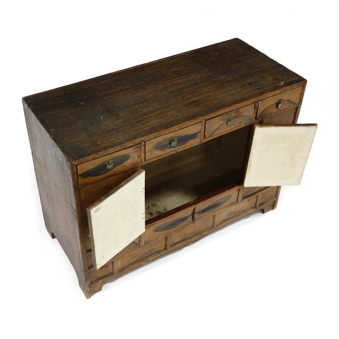 Antique Chinese Diminutive Cabinet - 3