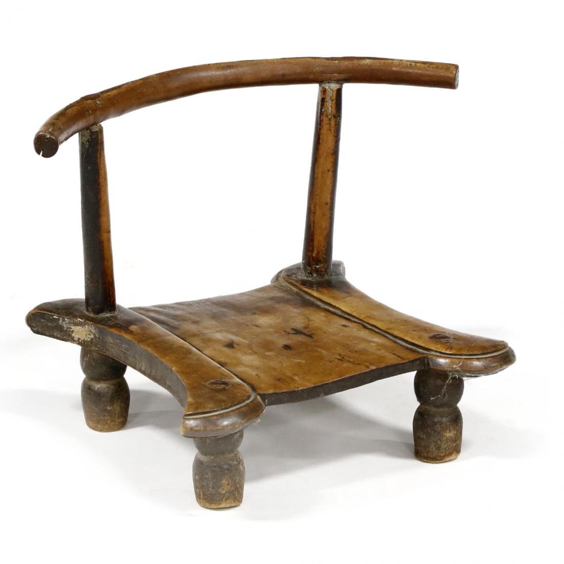 Antique Indian Piddi Chair