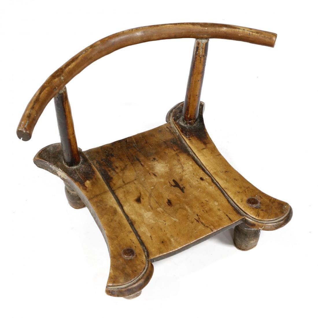 Antique Indian Piddi Chair - 2