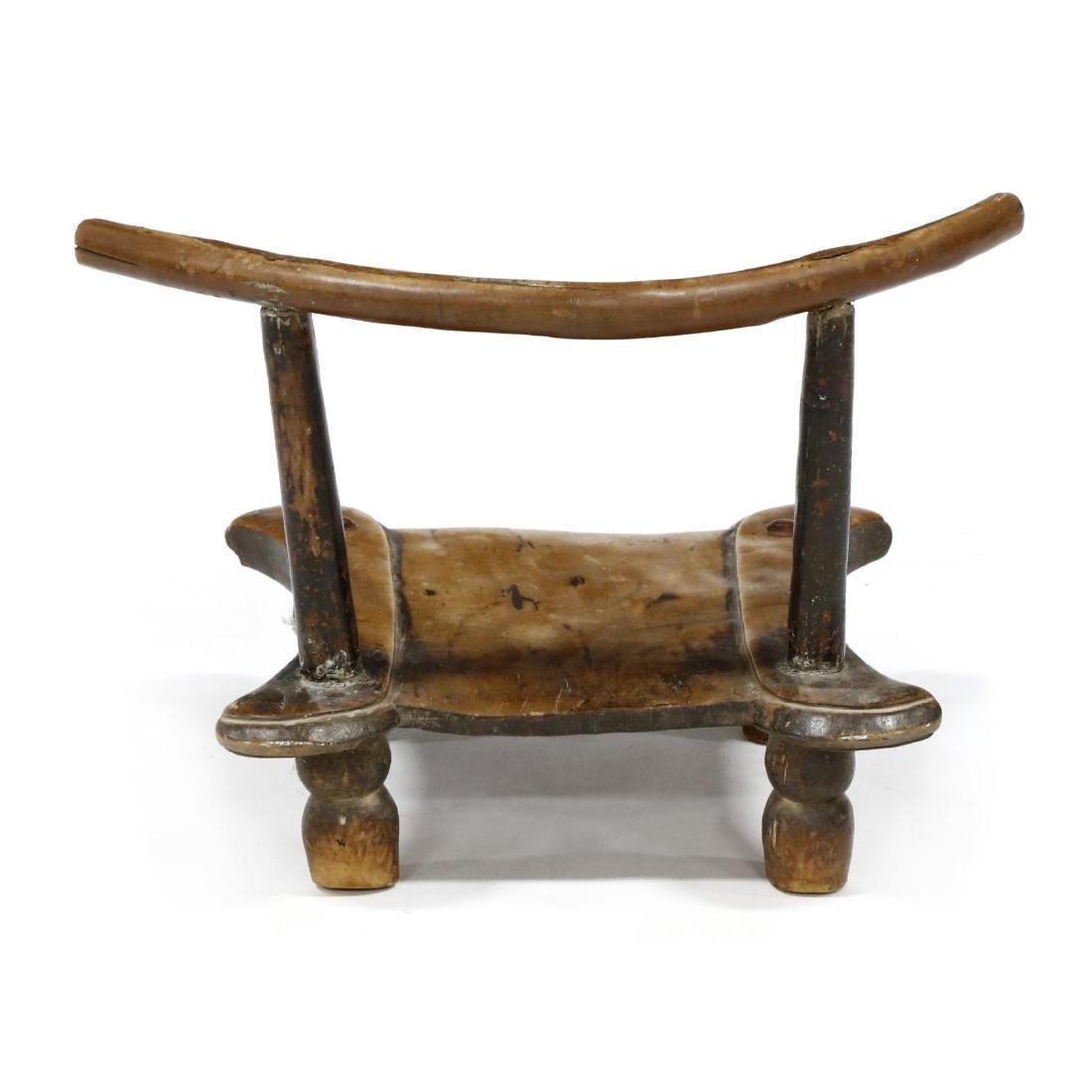 Antique Indian Piddi Chair - 3