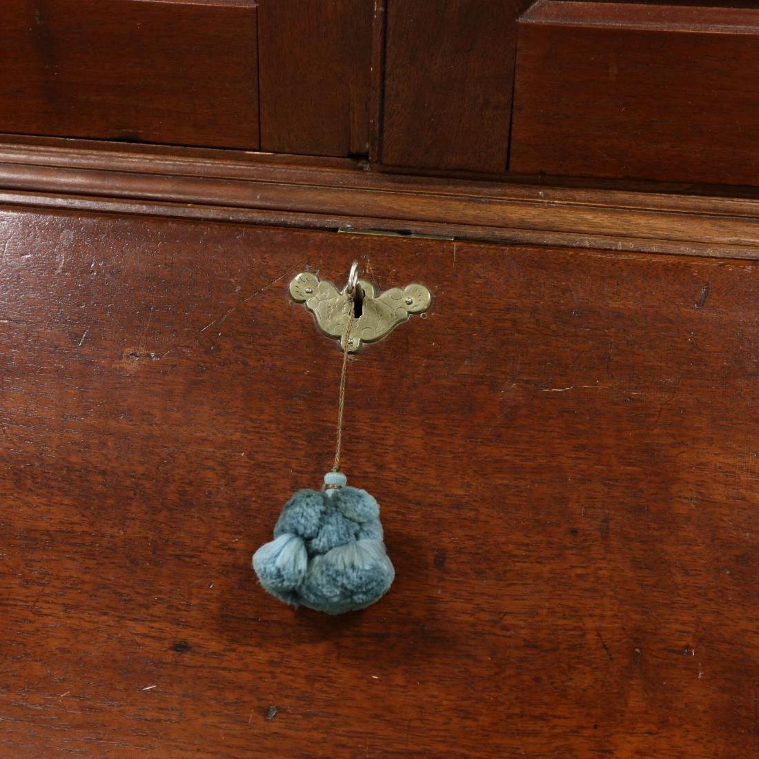 George III Walnut Secretary Bookcase - 4