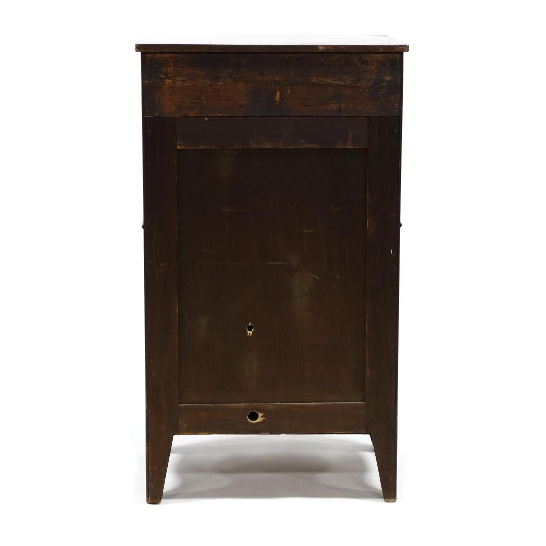 George III Mahogany Inlaid Dressing Cabinet - 7