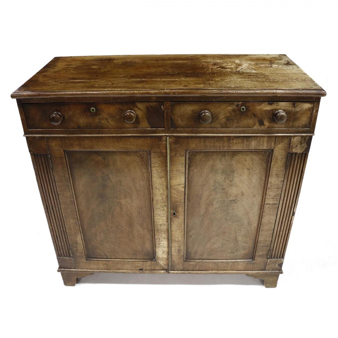 George III Mahogany Server - 5