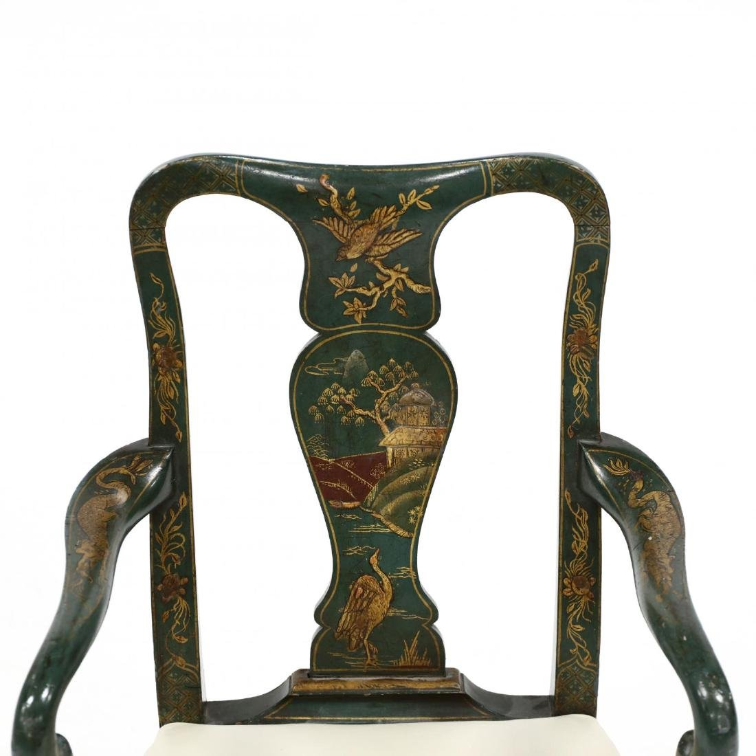Antique Child's Chinoiserie Arm Chair - 2