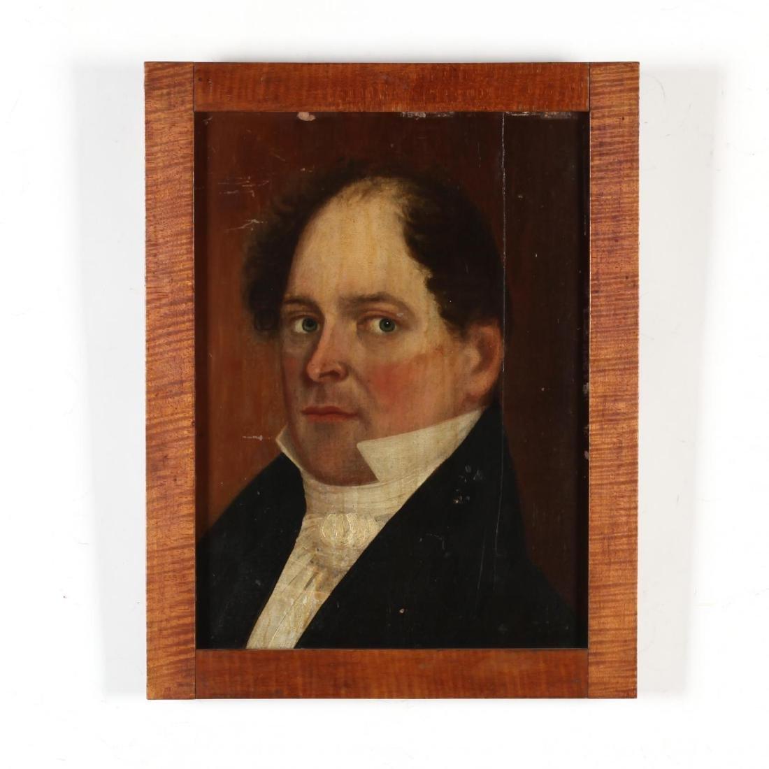 Continental School Portrait of a Man, circa 1820