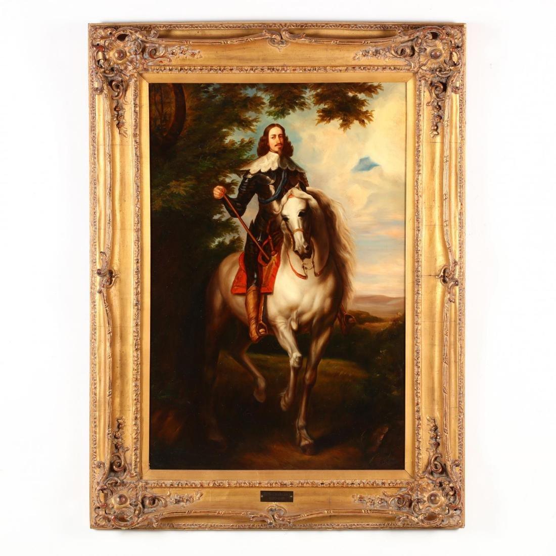 after Van Dyck (1599-1641), Portrait of King Charles I