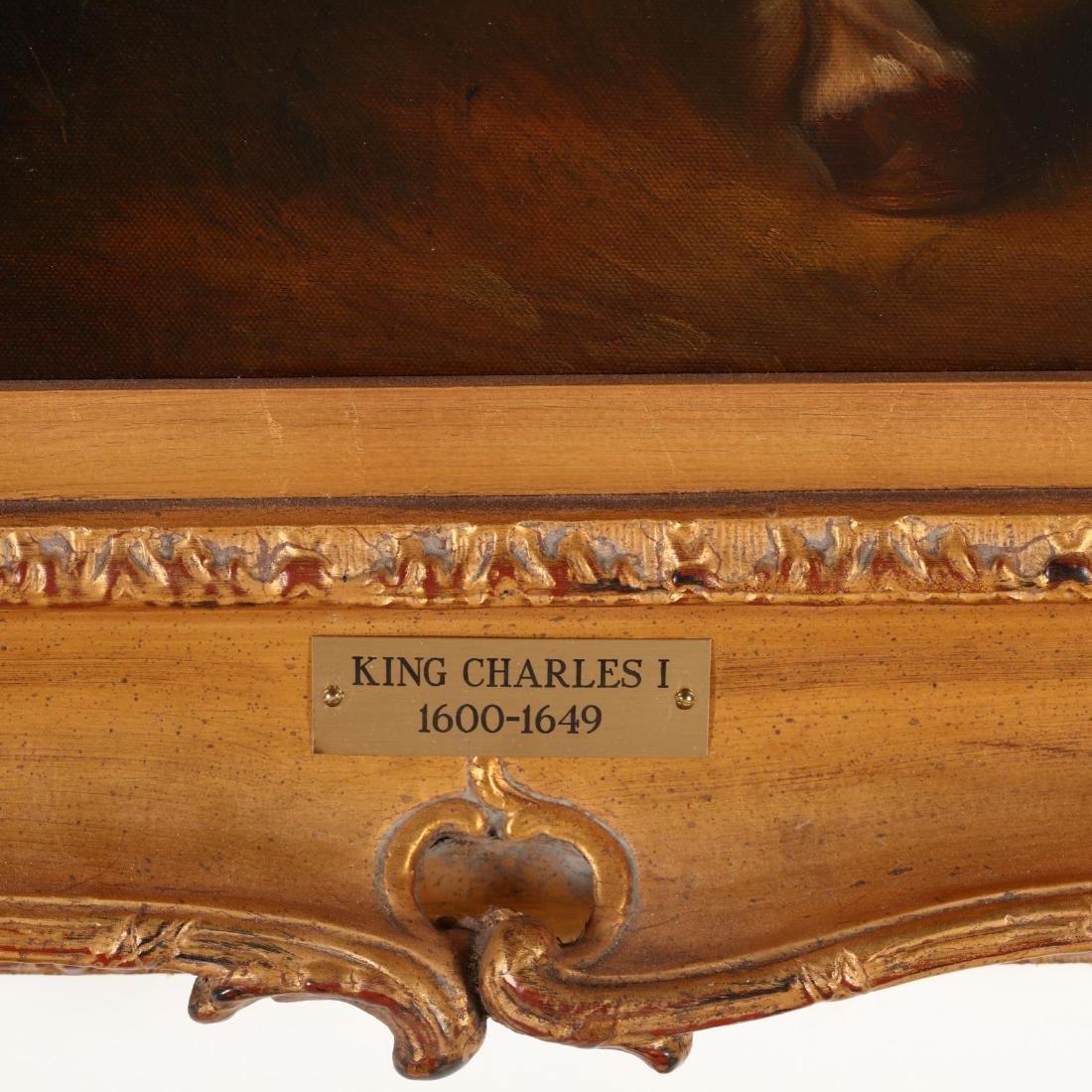 after Van Dyck (1599-1641), Portrait of King Charles I - 4