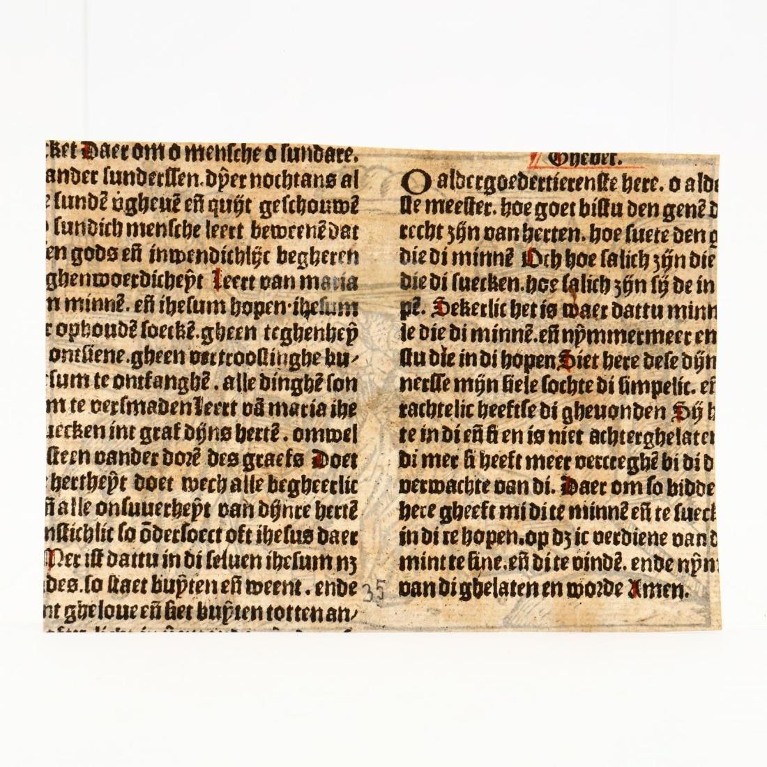 Antwerp School (15th Century), An Old Master Woodcut - 3