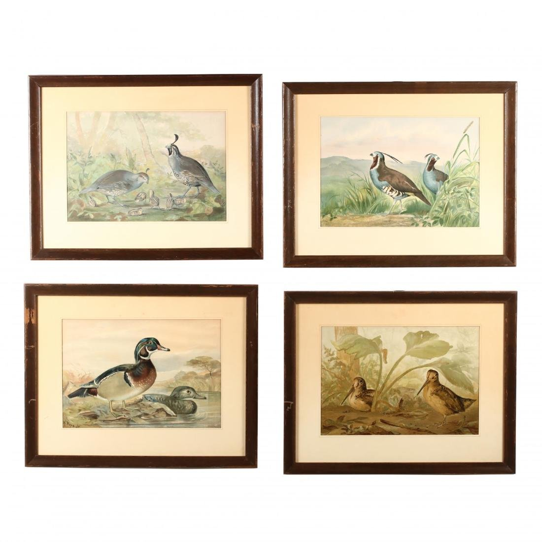 Alexander Pope Jr. (American, 1849-1924), Four Works