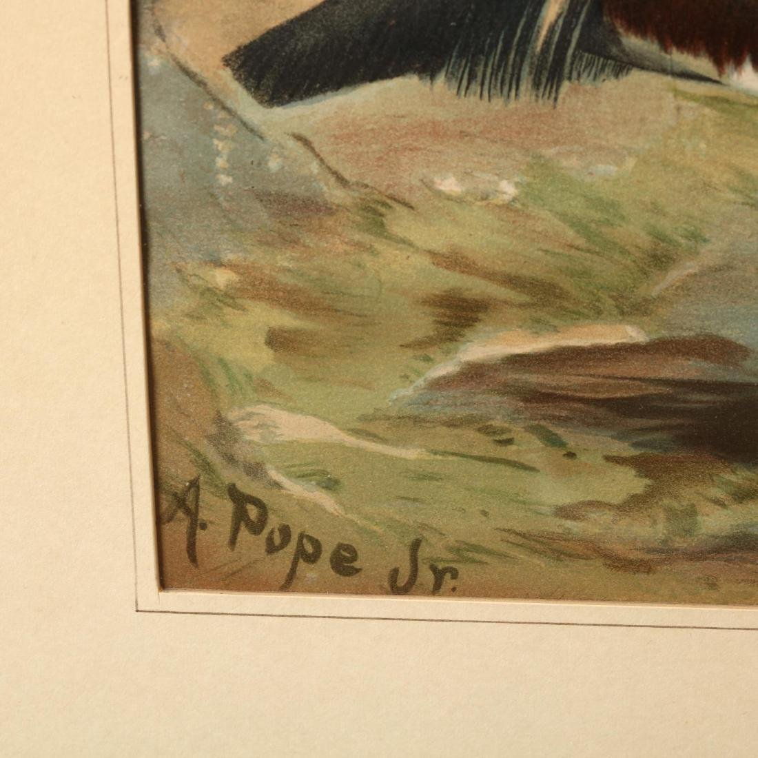 Alexander Pope Jr. (American, 1849-1924), Four Works - 6