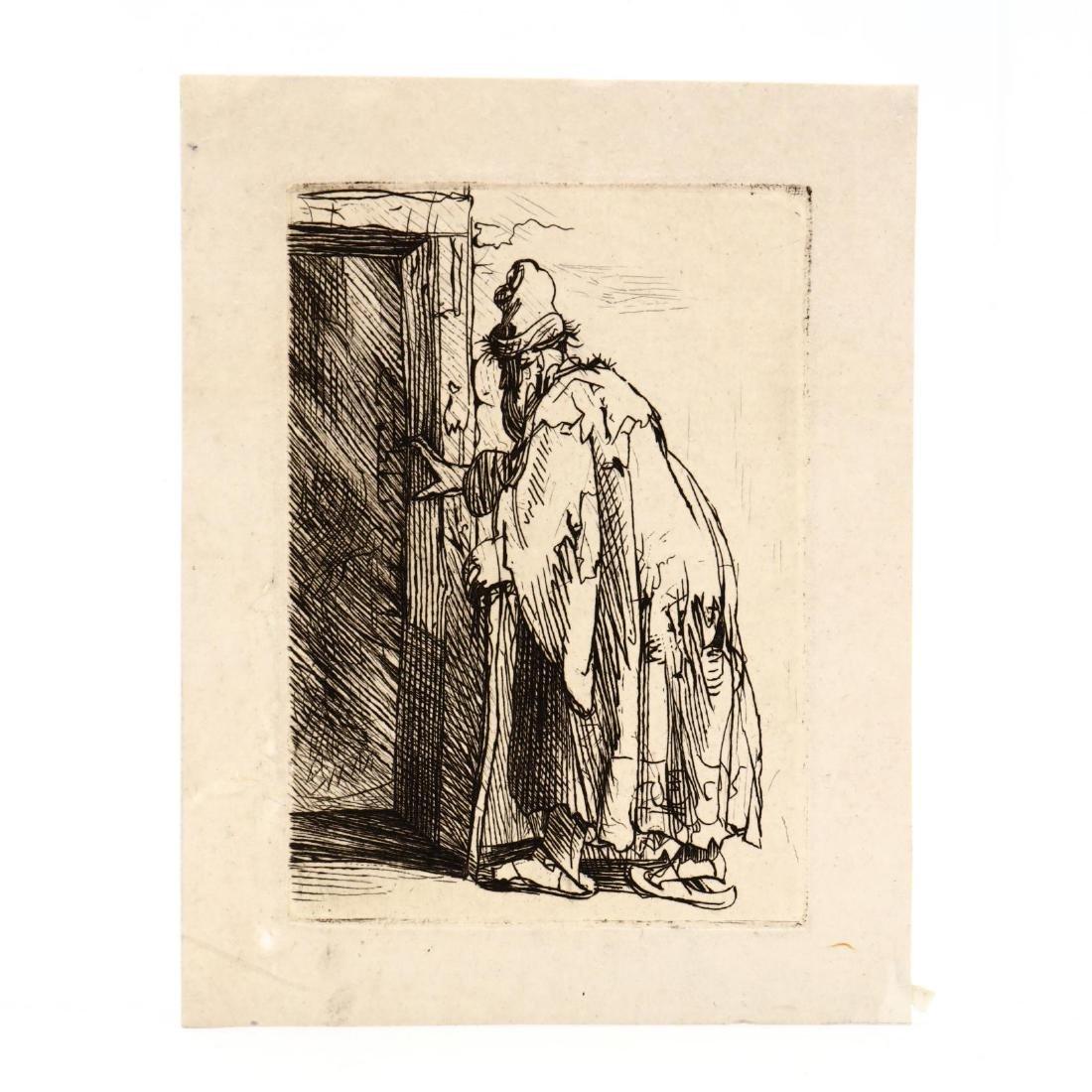Rembrandt van Rijn (Dutch, 1606-1669),  The Blindness