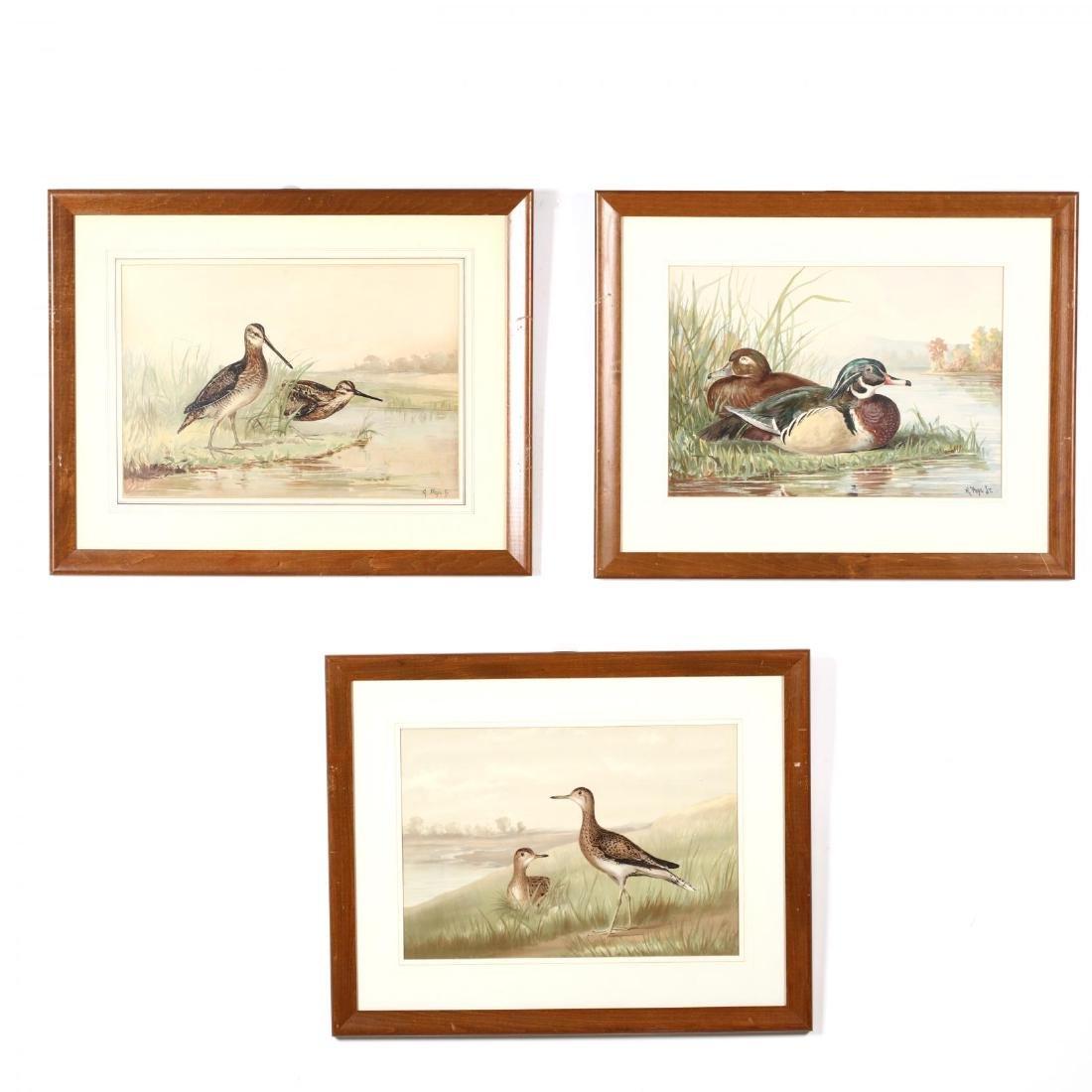 Alexander Pope Jr. (American, 1849-1924), Three Works