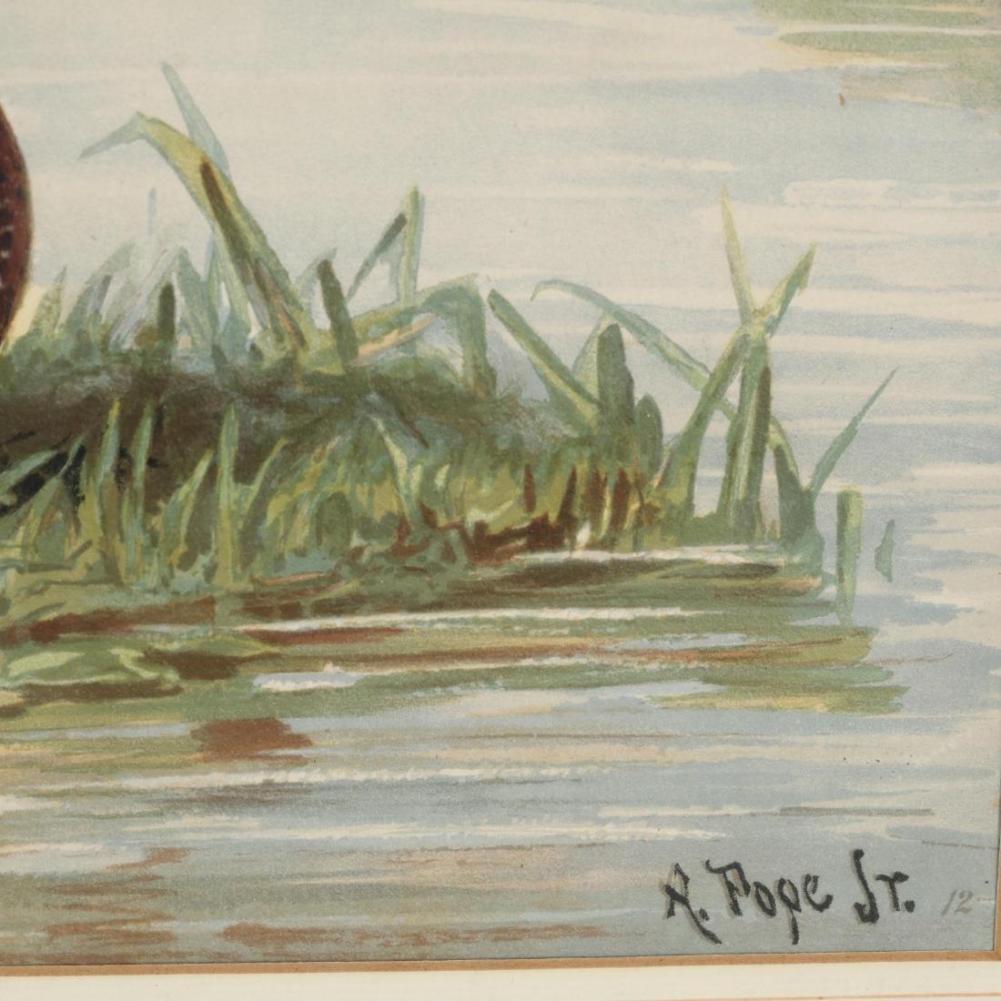 Alexander Pope Jr. (American, 1849-1924), Three Works - 5