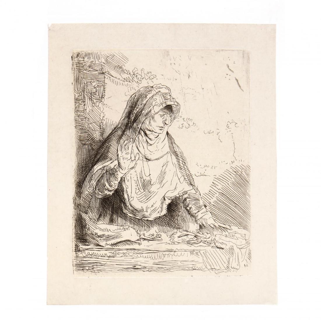 after Rembrandt van Rijn (Dutch, 1606-1669),  The