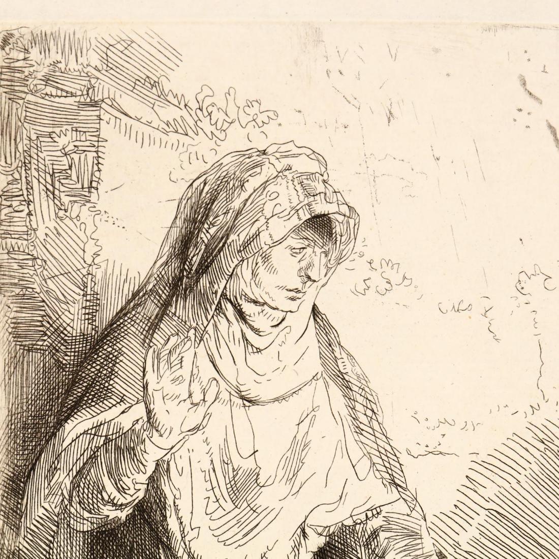 after Rembrandt van Rijn (Dutch, 1606-1669),  The - 2