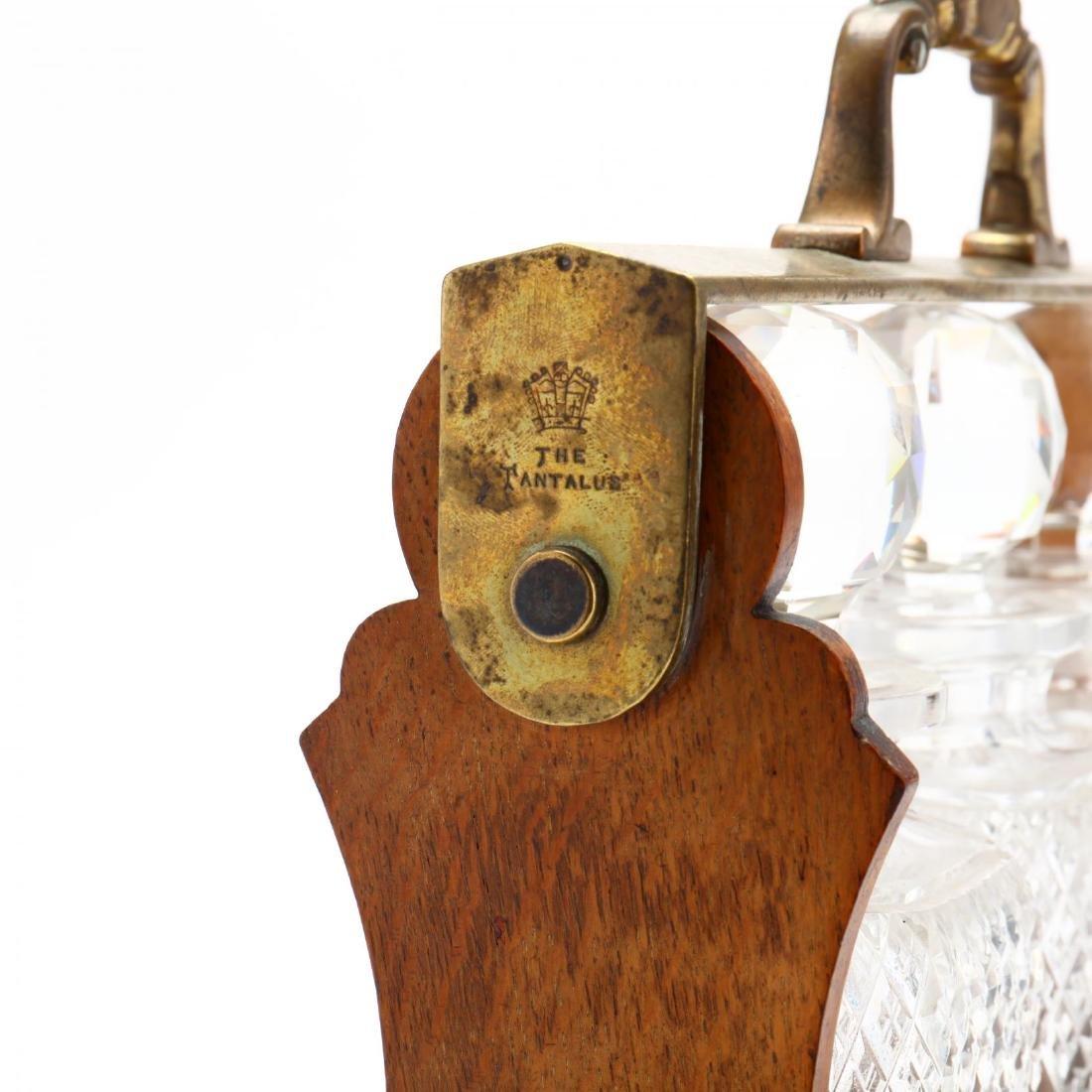 Antique English Tantalus - 5
